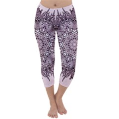 Sacred Art Shaman Shamanism Capri Winter Leggings