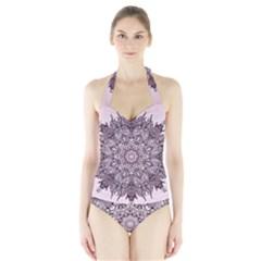 Sacred Art Shaman Shamanism Halter Swimsuit