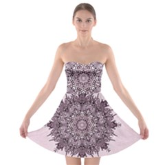 Sacred Art Shaman Shamanism Strapless Bra Top Dress