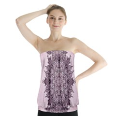 Sacred Art Shaman Shamanism Strapless Top