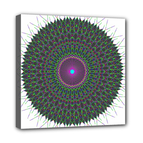 Pattern District Background Mini Canvas 8  X 8