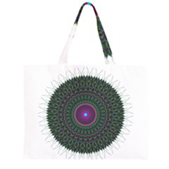 Pattern District Background Large Tote Bag