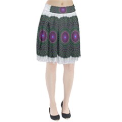 Pattern District Background Pleated Skirt