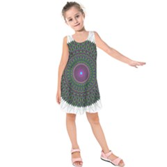 Pattern District Background Kids  Sleeveless Dress