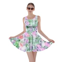 Softly Floral A Skater Dress