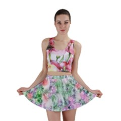 Softly Floral A Mini Skirt