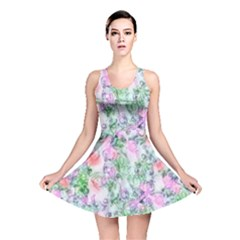 Softly Floral A Reversible Skater Dress