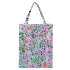 Softly Floral A Classic Tote Bag