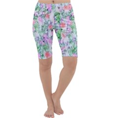 Softly Floral A Cropped Leggings
