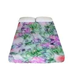 Softly Floral A Fitted Sheet (Full/ Double Size)