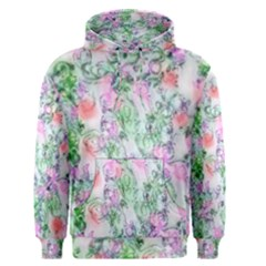 Softly Floral A Men s Pullover Hoodie