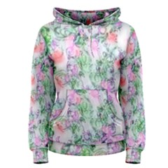Softly Floral A Women s Pullover Hoodie