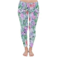 Softly Floral A Classic Winter Leggings