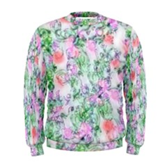 Softly Floral A Men s Sweatshirt