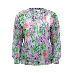 Softly Floral A Women s Sweatshirt