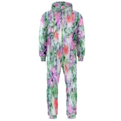 Softly Floral A Hooded Jumpsuit (Men)