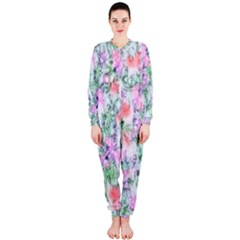 Softly Floral A OnePiece Jumpsuit (Ladies)