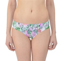 Softly Floral A Hipster Bikini Bottoms
