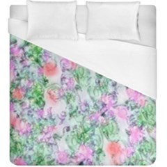 Softly Floral A Duvet Cover (King Size)