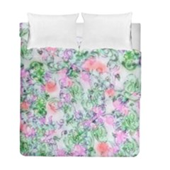 Softly Floral A Duvet Cover Double Side (Full/ Double Size)