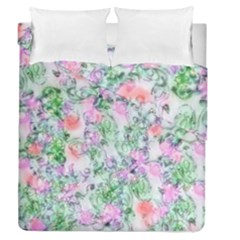 Softly Floral A Duvet Cover Double Side (Queen Size)