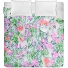 Softly Floral A Duvet Cover Double Side (King Size)