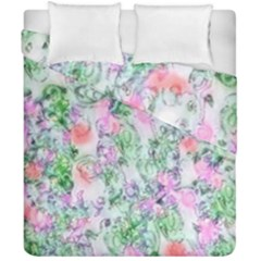 Softly Floral A Duvet Cover Double Side (California King Size)
