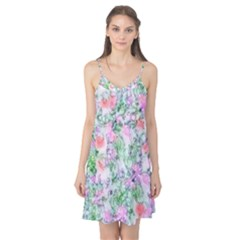 Softly Floral A Camis Nightgown