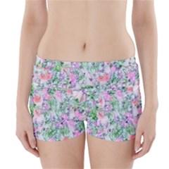 Softly Floral A Boyleg Bikini Wrap Bottoms