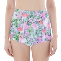 Softly Floral A High-Waisted Bikini Bottoms