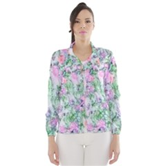 Softly Floral A Wind Breaker (Women)