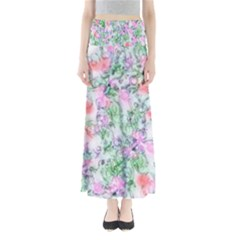 Softly Floral A Maxi Skirts