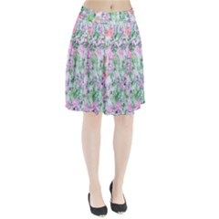 Softly Floral A Pleated Skirt