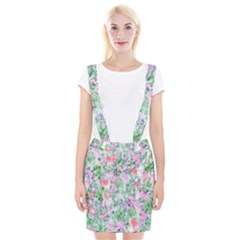 Softly Floral A Suspender Skirt