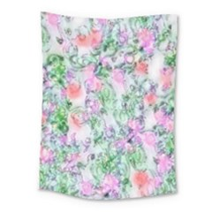Softly Floral A Medium Tapestry