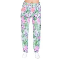 Softly Floral A Drawstring Pants