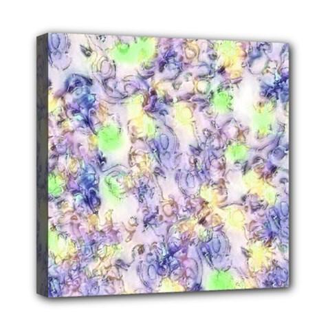 Softly Floral B Mini Canvas 8  x 8