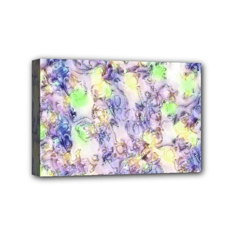 Softly Floral B Mini Canvas 6  x 4