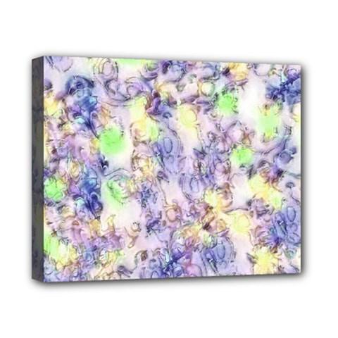 Softly Floral B Canvas 10  x 8