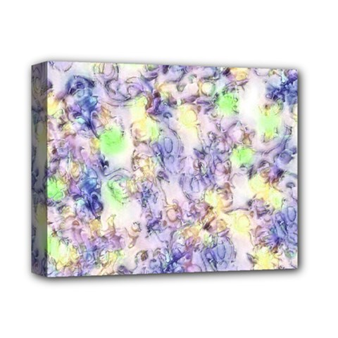 Softly Floral B Deluxe Canvas 14  x 11