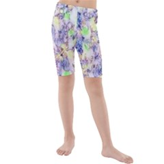 Softly Floral B Kids  Mid Length Swim Shorts