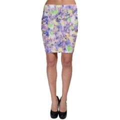 Softly Floral B Bodycon Skirt