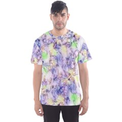 Softly Floral B Men s Sport Mesh Tee