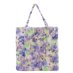 Softly Floral B Grocery Tote Bag