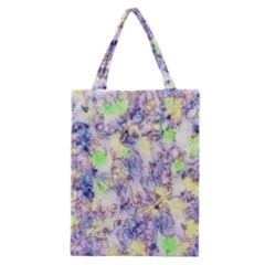 Softly Floral B Classic Tote Bag