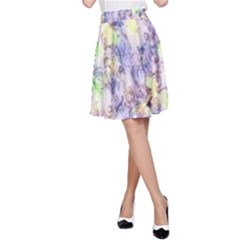 Softly Floral B A-Line Skirt
