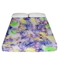 Softly Floral B Fitted Sheet (Queen Size)