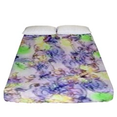 Softly Floral B Fitted Sheet (King Size)