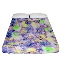 Softly Floral B Fitted Sheet (California King Size)