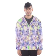 Softly Floral B Hooded Wind Breaker (Men)